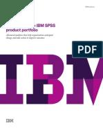SPSS Product Portfolio