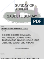 Third Sunday of Advent Sequence