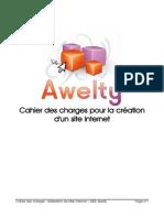 Cahier Des Charges Site Internet