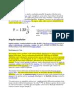 Optics Basics