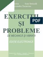 Exercitii Si Probleme de Dinamica Si Vibratii