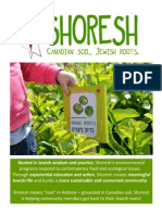 Shoresh Year in Review 2014