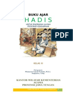 BUKU AJAR HADIS KELAS XI pk revised.doc