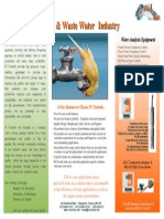 Water Industry Flyer - For Website and AWWA Show