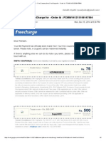 Gmail - Free Coupons From FreeCharge