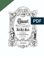 Concerto BVM de Bach 1060
