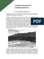 Los Medios de Comunicación en Bolivia