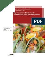 Boletín Actualidad Corporativa N° 20 - Reforma Parcial de la Ley de Alimentación para Los Trabajadores