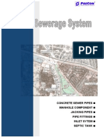 Precon Sewerage System