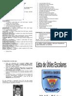 Lista de Útiles 1º Año 2015