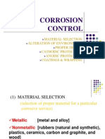 Materials Selection for Corrosion Prevention