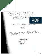 Inglourious Basterds - Original Screenplay