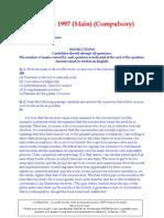 General Studies Mains 2000 p1 p2