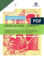Becas CLACSO CONACYT 2015 Listado de Posgrados