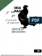 Braunstein Néstor -Memoria y Espanto