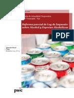Boletín Actualidad Corporativa N° 23 - Reforma de La Ley de Impuesto sobre Alcohol y Especies Alcohólicas
