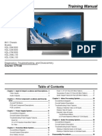 Sony Ctv-44 Ma1 Direct Lcd Training Manual
