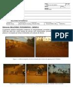 Relatório Fotográfico Irregularidades Motos