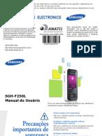 Samsung PT Celular SGH F250
