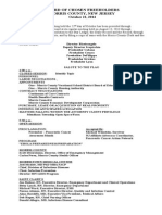 FH Work Session Meeting Minutes - 2014-10-22