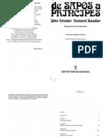 De Sapos a Principes Richard Bandler John Grinder