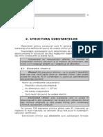 CAPITOLUL 2-structura substantelor