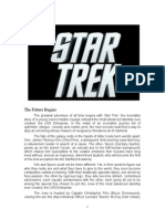 Star Trek 11 Production Notes