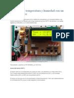 Medición de Temperatura y Humedad Con Un Sensor DHT11