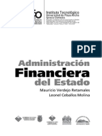 Libro deAdministración Financiera Del Estado UPLA