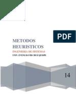 MÉTODOS HEURÍSTICOS
