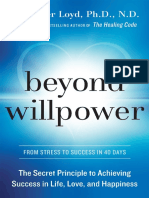 Beyond Willpower by Alexander Loyd, Ph.D. - Excerpt