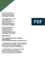cantos para quarta-feira de cinzas 2014.doc