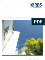 Annual Review Financial Statement 2008