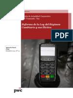 Boletín Actualidad Corporativa N° 24 - Reforma de la Ley del Régimen Cambiario y sus ilícitos