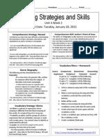 u4w2reading skills and strategies