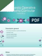 Propuesta Operativa de Diseño Curricular (2)