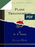 Plane Trigonometry v1 1000117863