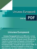 Uniunea Europeană proiect