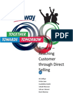 Amway - Reaching Customer Through Direct Selling - Group - Ali Zulfiqar