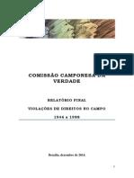 Relatório Final Comissão Camponesa Da Verdade - 09dez2014