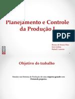 Simulação LSSP_PCP1