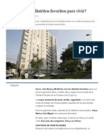 ¿Cuáles Son Los Distritos Favoritos Para Vivir_ _ Economía _ Peru21