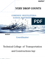 prezentare engleza water - every drop counts-1