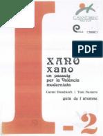 Xano-Xano, un passeig per la València Modernista - Guia Alumnes