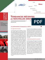Observation des drogues à Metz et en Lorraine 2013-2014