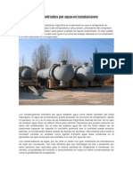 Condensadores Enfriados Por Agua en Instalaciones Frigoríficas