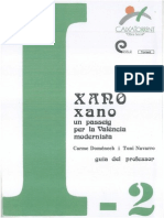 Xano-Xano, un passeig per la València Modernista - Guia Professor