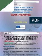water proprieties