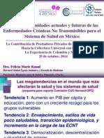 Retos y oportunidades actuales y futuras de las Enfermedades Crónicas No Transmisibles para el Sistema de Salud en México