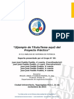 Formato Reporte Proyecto Practico Ie-512ansipot My Name 04112014